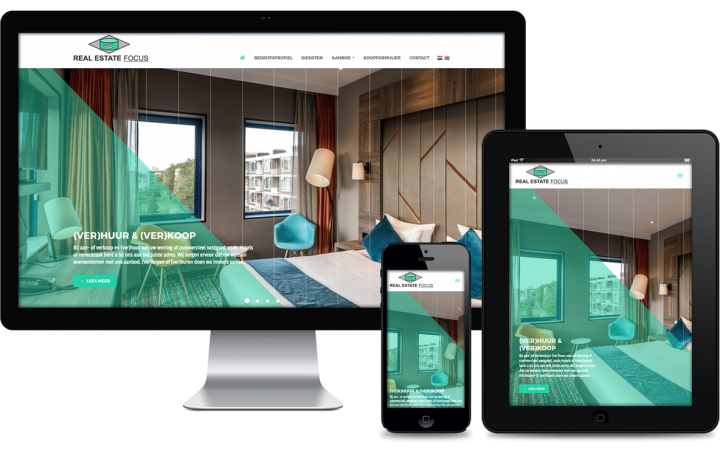 Swerk webdesign bureau amsterdam - Real Estate Focus